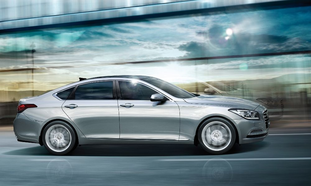 Hyundai Genesis 2017, United Arab Emirates