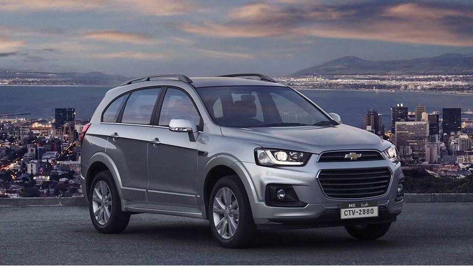 Chevrolet Captiva 2017, United Arab Emirates