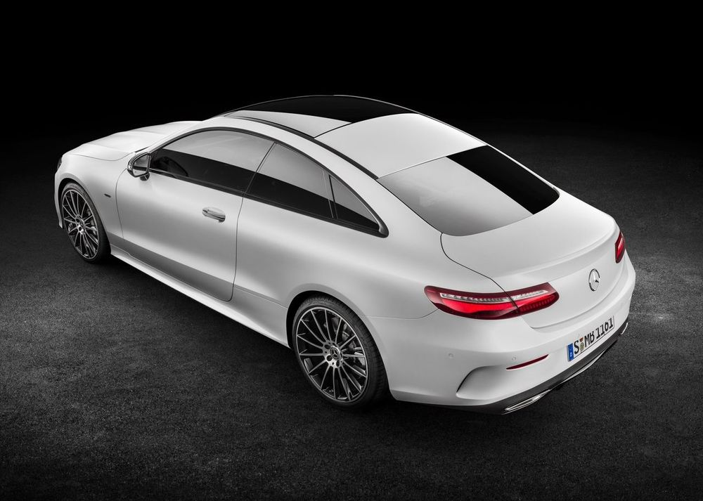 Mercedes-Benz E-Class Coupe 2017, United Arab Emirates