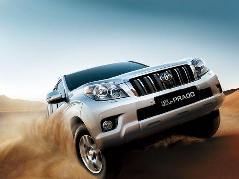 Toyota Land Cruiser Prado 2012, Kuwait