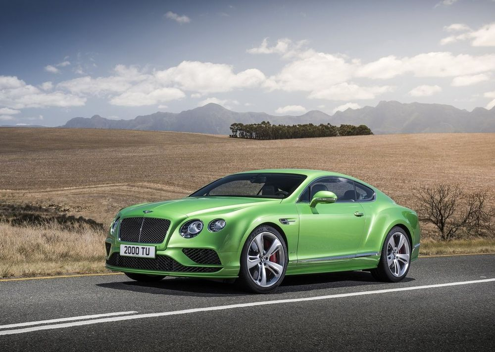 Bentley Continental GT 2017, Kuwait