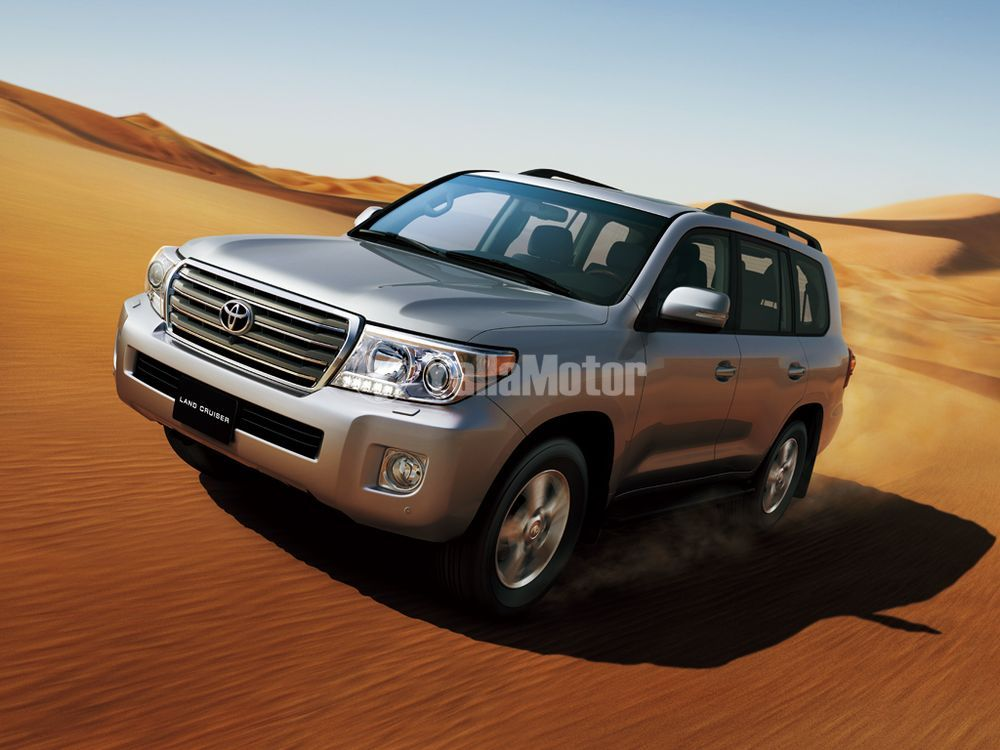 Toyota Land Cruiser 2012, Qatar
