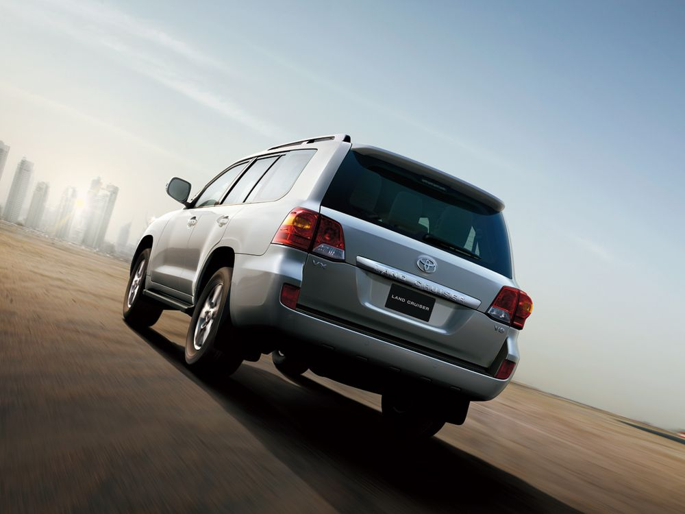 Toyota Land Cruiser 2012, Egypt