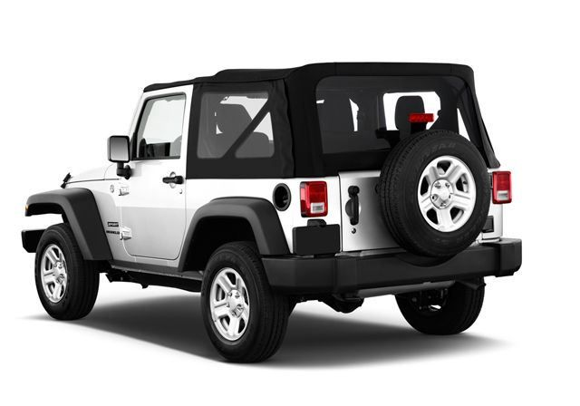 Jeep Wrangler 2017, United Arab Emirates