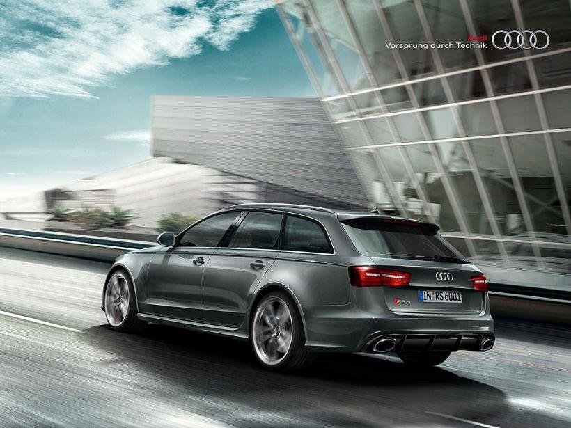 Audi RS6 Avant 2017, Oman