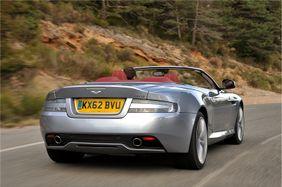 Aston Martin Db9 Volante 2017 V12 Carbon Black Saudi Arabia