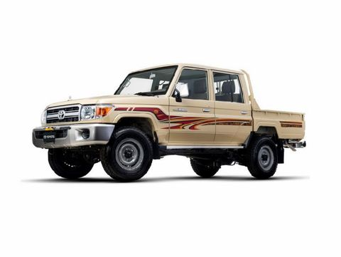Toyota Land Cruiser Pick Up 2017, Qatar