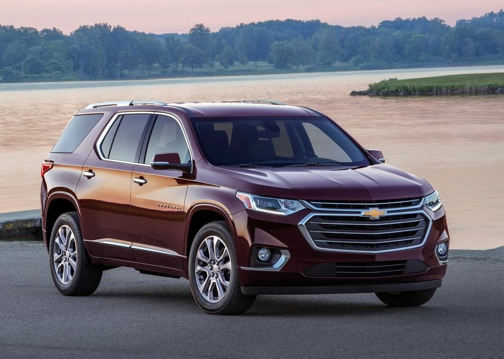 Chevrolet Traverse 2018, Oman