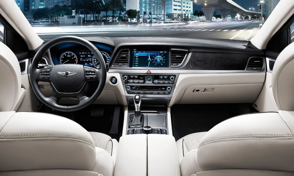 Hyundai Genesis 2018, Kuwait