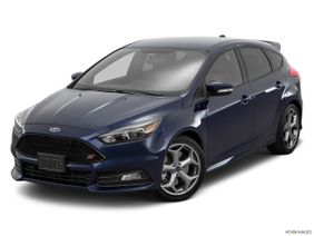 Ford Focus 2018, Saudi Arabia, Front angle view.