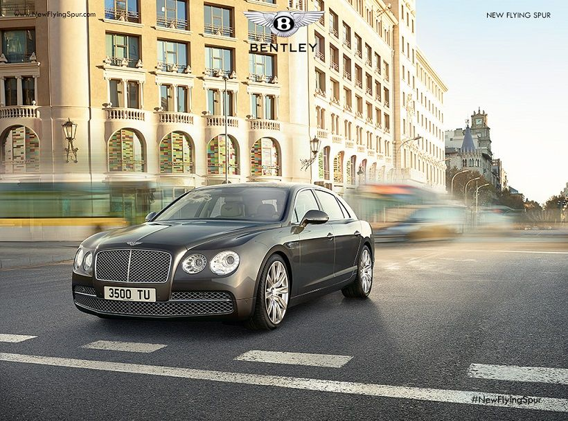 Bentley Flying Spur 2018, Egypt