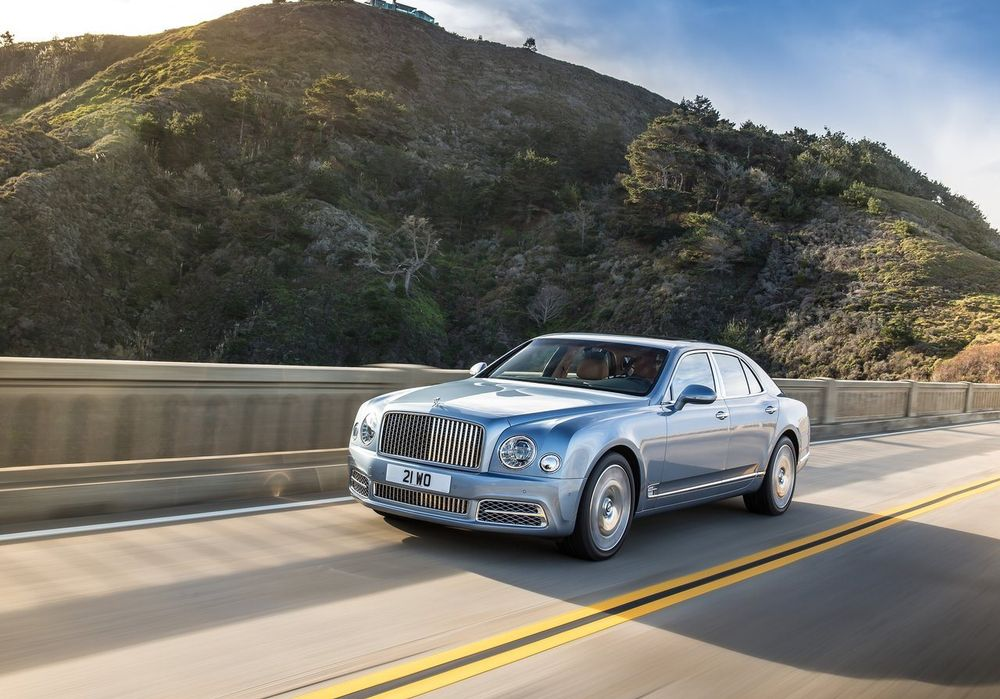 Bentley Mulsanne 2018, Egypt