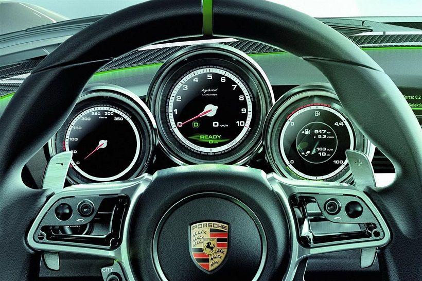 Porsche 918 Spyder 2018, Kuwait