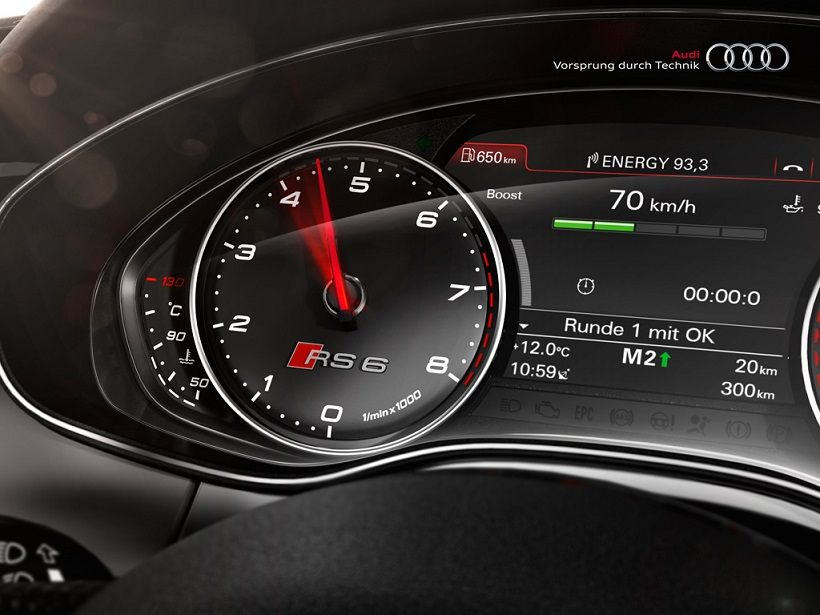Audi RS6 Avant 2018, Qatar