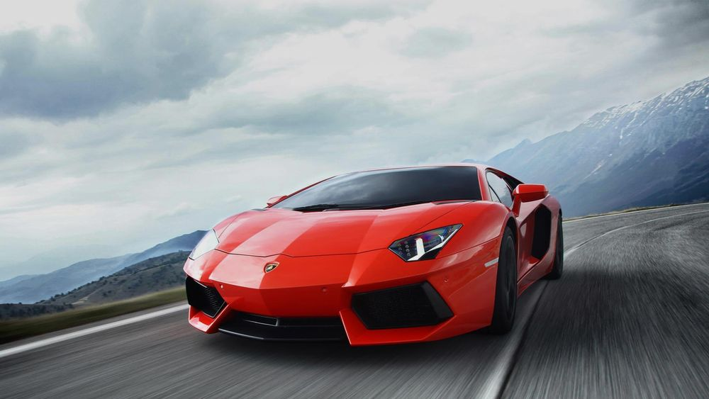 Lamborghini Aventador 2018, Saudi Arabia