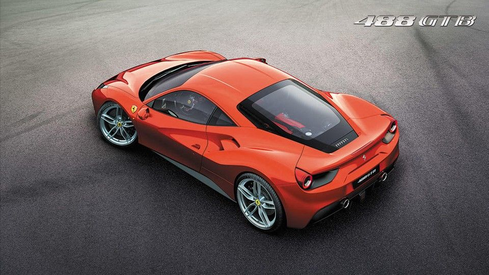 Ferrari 488 GTB 2018, United Arab Emirates