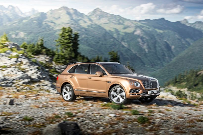 Bentley Bentayga 2018, Egypt