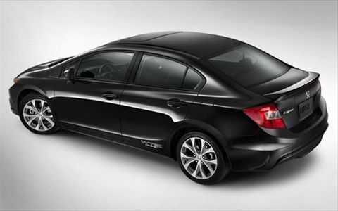 Honda Civic 2012, United Arab Emirates