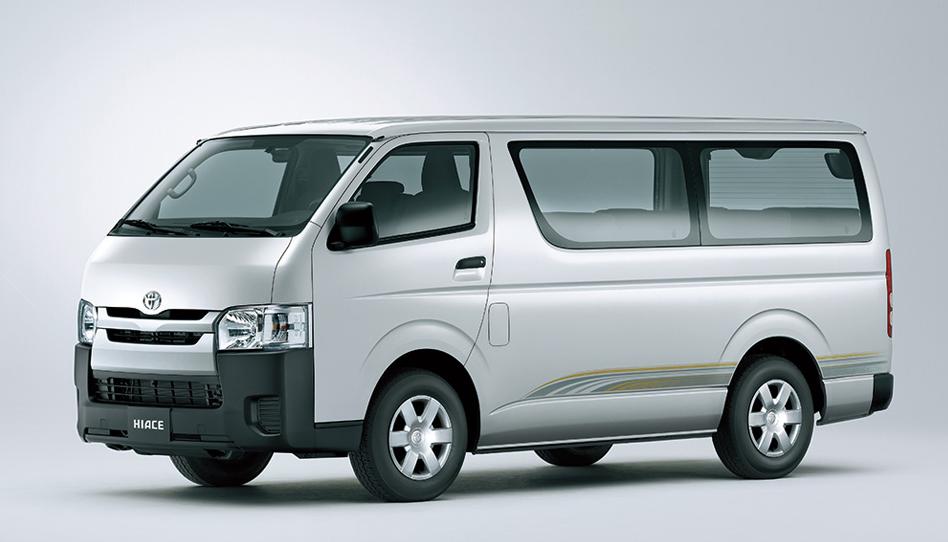 Toyota Hiace 2018, United Arab Emirates