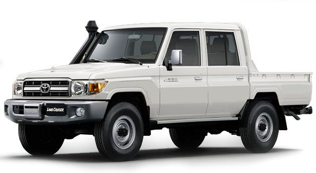 Toyota Land Cruiser Pick Up 2018, Qatar
