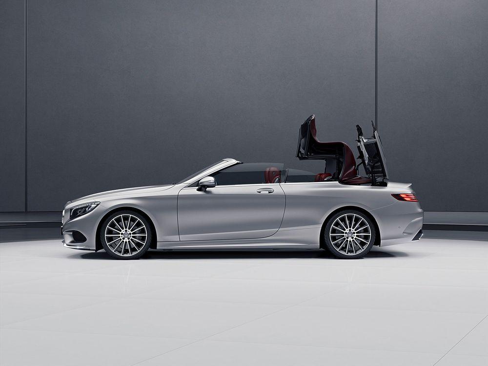 Mercedes-Benz S Class Cabriolet 2018, Qatar