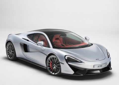 McLaren 570 GT 2018, United Arab Emirates