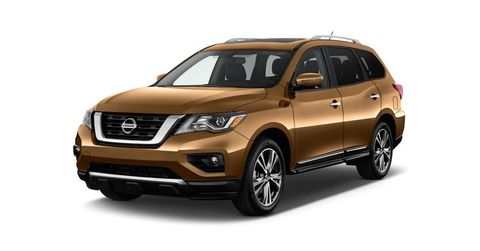 Nissan Pathfinder 2018, United Arab Emirates