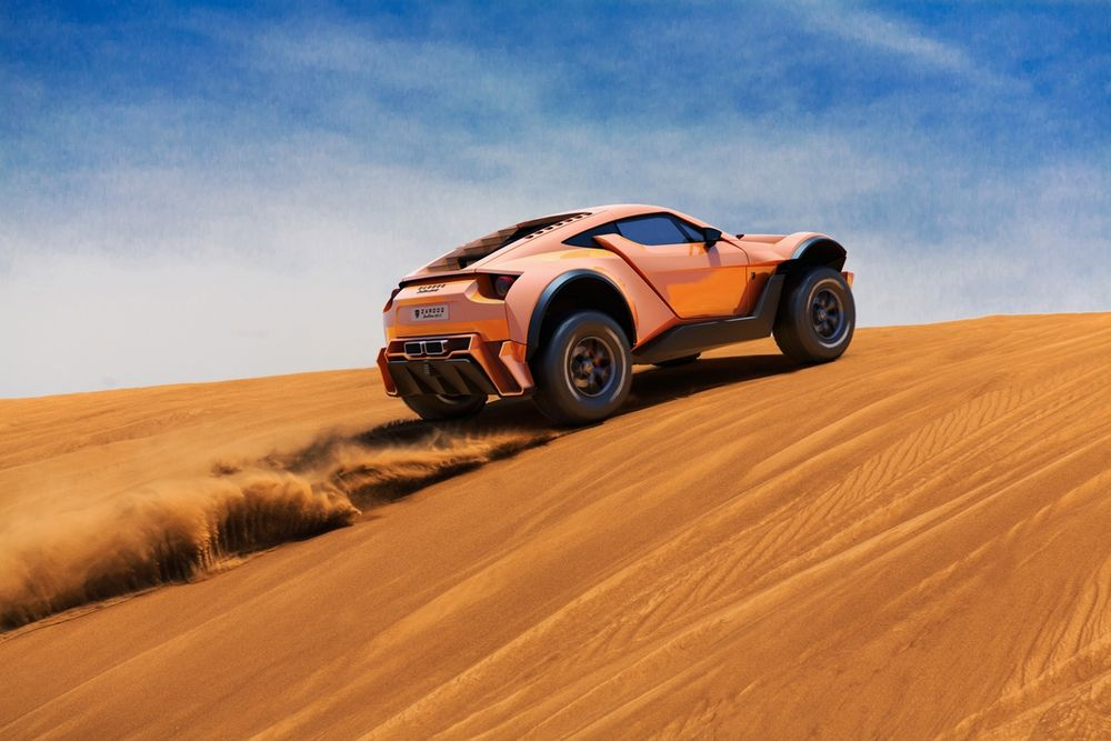 Zarooq Motors SandRacer 500GT 2018, United Arab Emirates