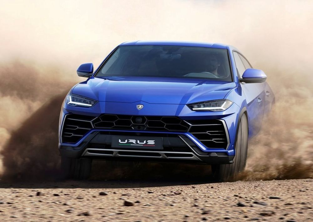 Lamborghini Urus 2018, United Arab Emirates