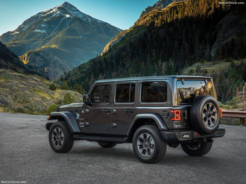 Jeep Wrangler Unlimited 2019, Bahrain