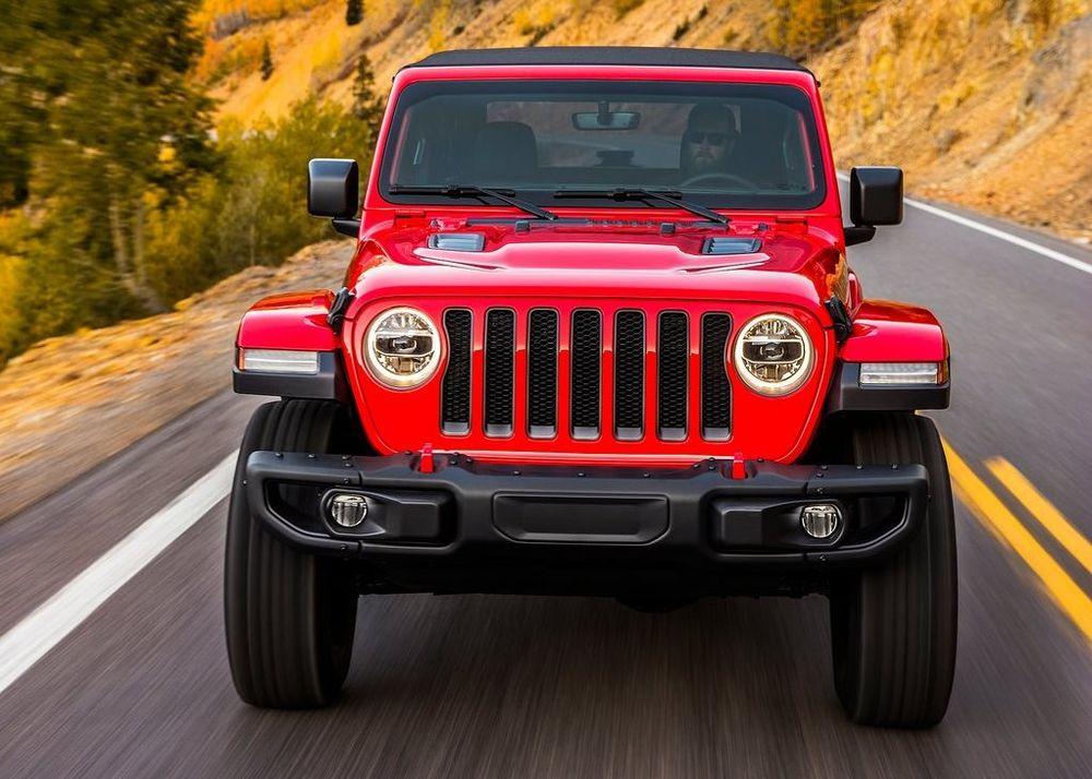 Jeep Wrangler 2019, Saudi Arabia