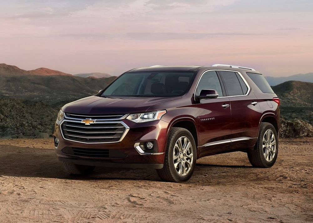 Chevrolet Traverse 2019, Qatar