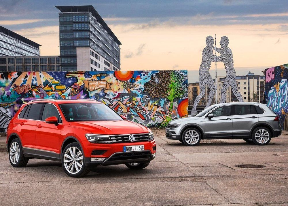 Volkswagen Tiguan 2019, United Arab Emirates