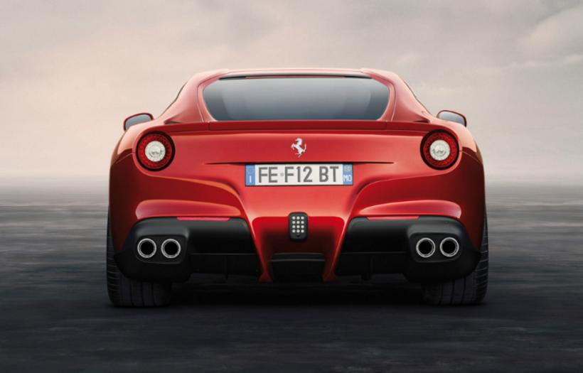 Ferrari F12 berlinetta 2019, Kuwait