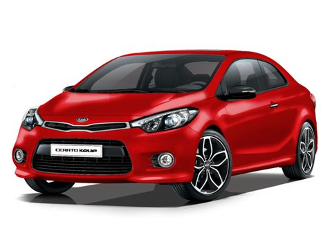 Kia Cerato Koup 2019, United Arab Emirates