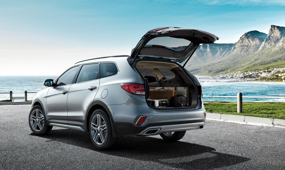 Hyundai Grand Santa Fe 2019, United Arab Emirates