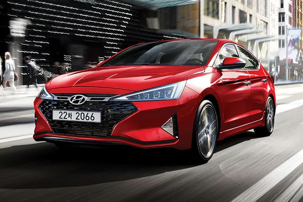 Hyundai Elantra 2019, United Arab Emirates