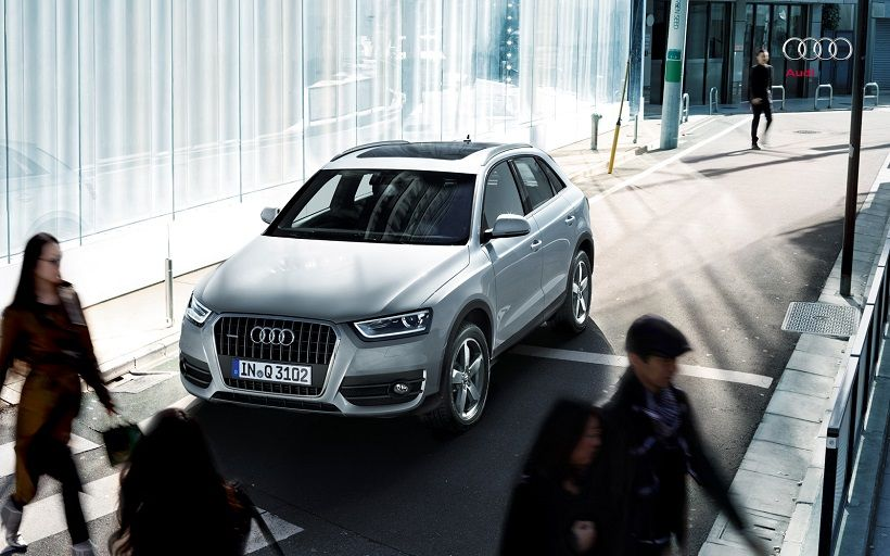 Audi Q3 2012, United Arab Emirates