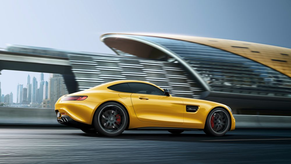 Mercedes-Benz AMG GT 2019, United Arab Emirates