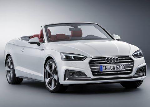 audi a5 cabriolet 2019 35 tfsi 170 hp in saudi arabia: new car