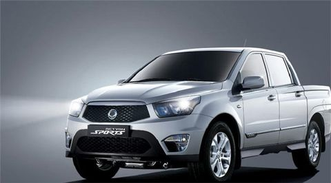 SsangYong Actyon Sport 2019 2WD, Kuwait, https://ymimg1.b8cdn.com/resized/car_model/4613/pictures/4021418/mobile_listing_main_2014_SsangYong_Actyon_Front.jpg