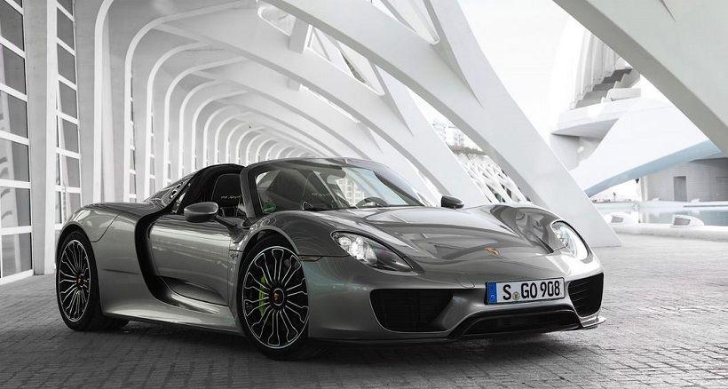 Porsche 918 Spyder 2019, Kuwait