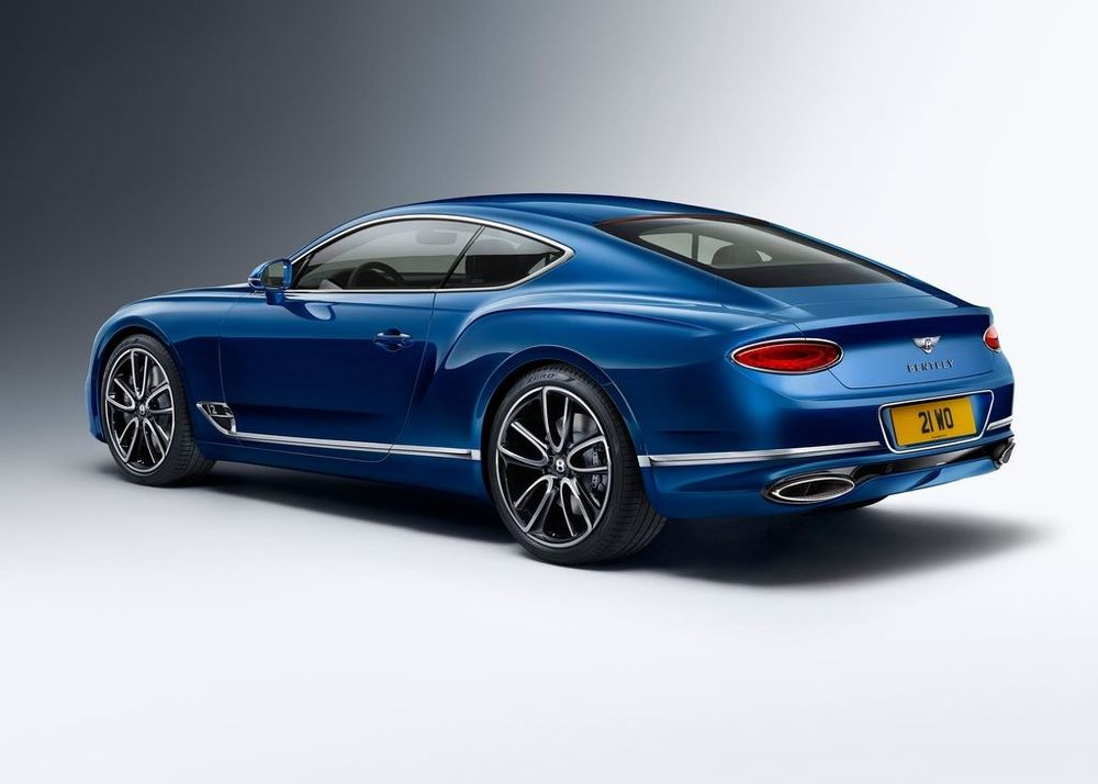 Bentley Continental GT 2019, Kuwait