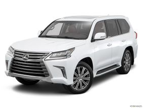 Lexus LX 2019, United Arab Emirates