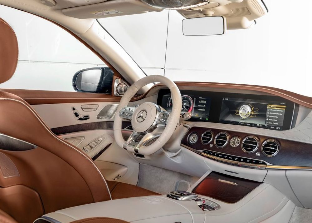 Mercedes-Benz S 65 AMG 2019, Kuwait
