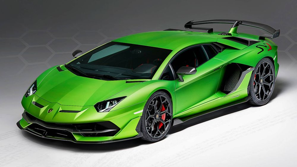 Lamborghini Aventador SVJ 2019, Saudi Arabia