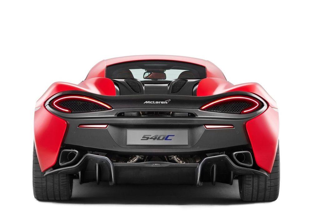 McLaren 540C 2019, Bahrain