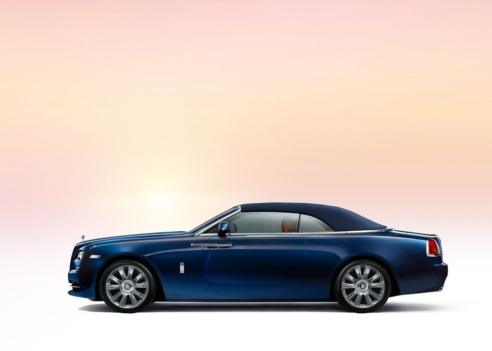 Rolls Royce Dawn 2019, Saudi Arabia