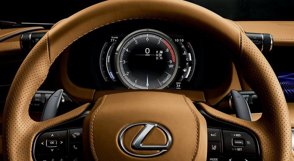 Lexus LC 500h 2019, Qatar