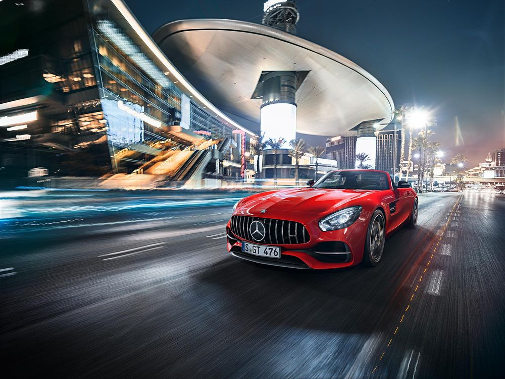 Mercedes-Benz AMG GT Roadster 2019, United Arab Emirates